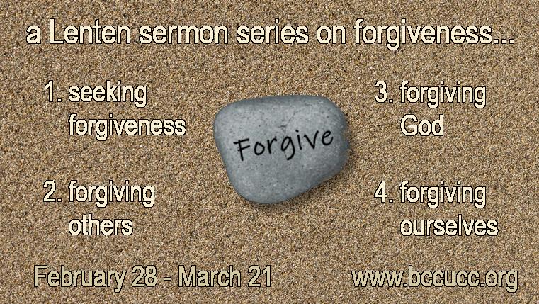 Announcing a new Lenten sermon series