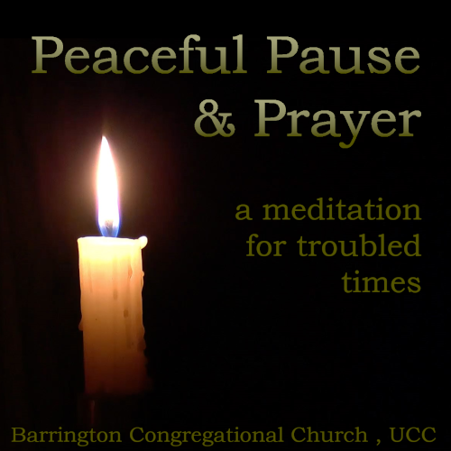 Join us for a Peaceful Pause & Prayer series